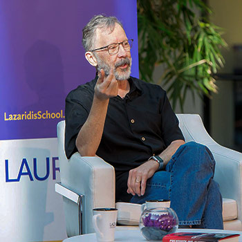 Disney Pixar's Ed Catmull talks about creative management at Lazaridis School