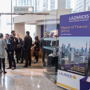 Image - Largest ever Laurier Finance Meet-up hosted in Toronto's business district