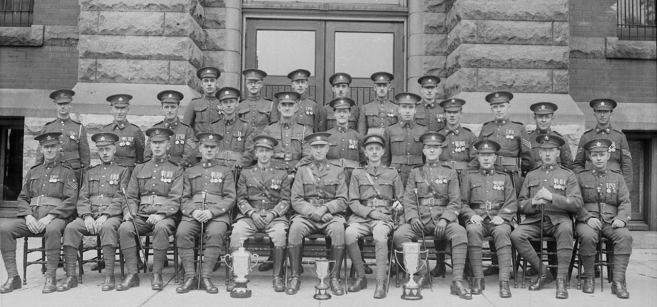 Perth Regiment, c. 1928, Stratford & Perth County Archives/Library and Archives Canada