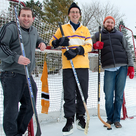 Early winter has backyard rinks, Laurier's RinkWatch project in full swing