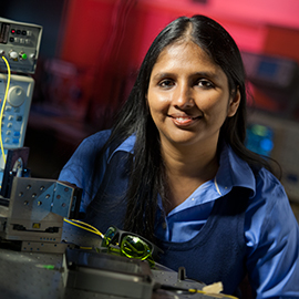 Celebrating International Day of Women and Girls in Science: Watch Laurier physicist Shohini Ghose explain quantum computing