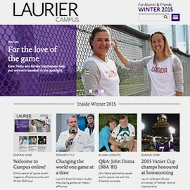 Laurier Campus magazine goes online