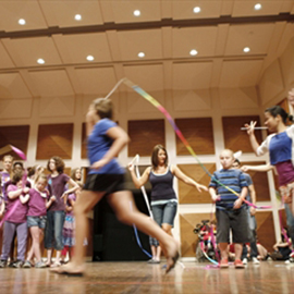 Laurier Arts Express camp hosts final performance