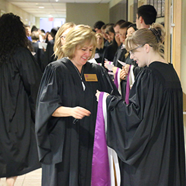 A behind-the-scenes look at convocation