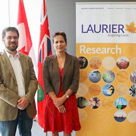 Laurier researchers receive provincial funding