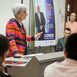 Canadian Tire's Maureen Sabia delivers CEO-in-Residence address at Laurier