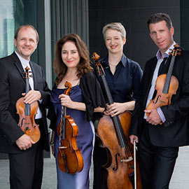 Penderecki String Quartet celebrates 25 years at Laurier with performance featuring pianist Janina Fialkowska