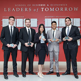 Third-year students impress Molson Coors Canada executives during ICE Week