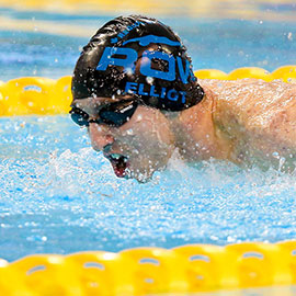 Golden Hawk aims for swimming gold at Paralympics in Rio
