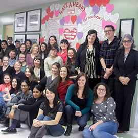 "Laurier staff launch ""Have a Heart"" campaign to increase awareness for under-funded Aboriginal schools"