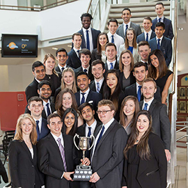 Laurier's Lazaridis School students win prestigious business competitions