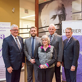 Graduate students contribute $1.1M to Laurier
