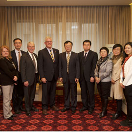 Laurier to welcome senior university leaders from China for training and exchange