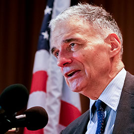 Laurier to host news conference with Ralph Nader at university's Brantford campus