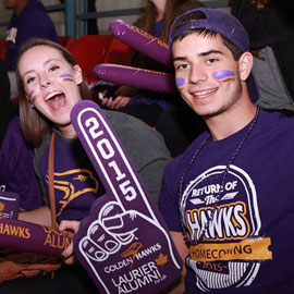 Laurier welcomes alumni to Homecoming celebrations on Brantford campus
