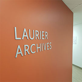 A voyage of exploration in the Laurier Archives