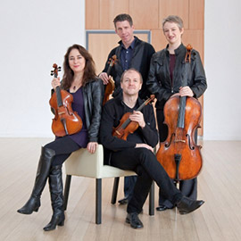 Penderecki String Quartet celebrates 25th anniversary at Laurier