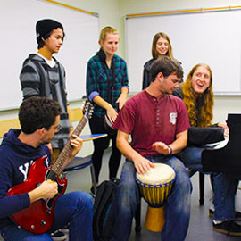 Laurier's new undergraduate community music program strikes a chord with students