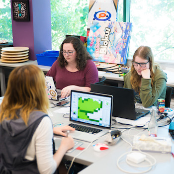 Students at Laurier's Brantford Games Network Lab create games to mitigate climate change