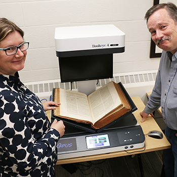 Image - Scanning history at the Laurier Archives