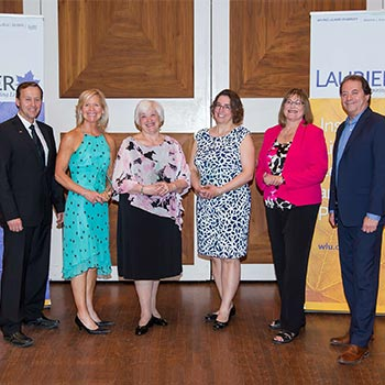 Laurier celebrates generous donors and presents 2017 Philanthropy Awards