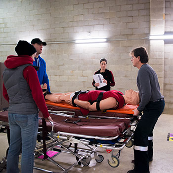 New, evidence-based physical abilities test for paramedics to be launched at Laurier