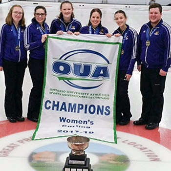 Laurier women's curling team defeats Queen's to reclaim OUA title