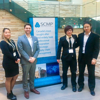 Lazaridis School students win supply chain case competition