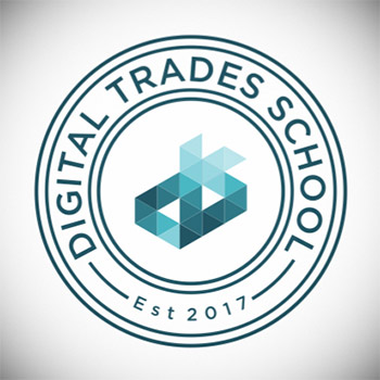 Logo for Digital Trades School