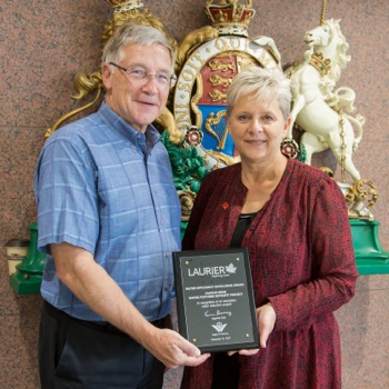 Laurier receives Water Efficiency Excellence Award for water conservation