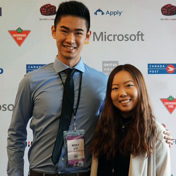 Laurier student and teammate reach finals in Canada's Next Top Ad Exec competition