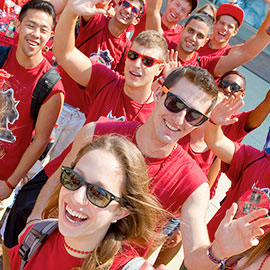 Orientation Week events welcome first-year students to Laurier's Brantford campus
