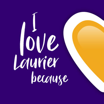 Golden Hawks share their love for Laurier