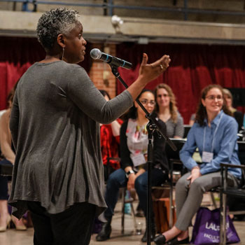 Gospel music workshops at Laurier connect students and community to rich musical tradition