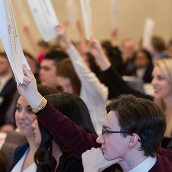 Laurier's Model United Nations club competes against delegates from around the world