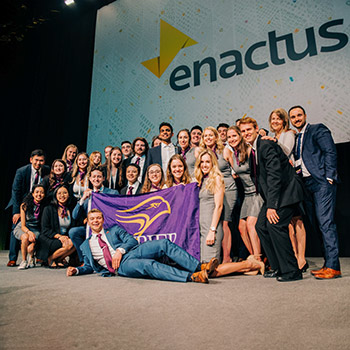 Laurier students earn podium finish for environmentally friendly EarthSuds products at Enactus exposition