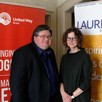 Brant United Way and Wilfrid Laurier University partnering for community impact