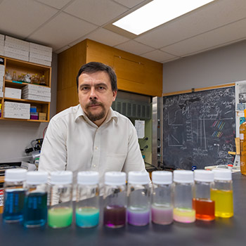 Nanoparticle researcher Vladimir Kitaev named Laurier's University Research Professor