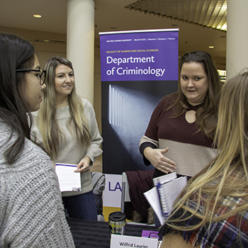 Criminology program celebrates 15 years at Laurier's Brantford campus