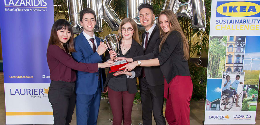 Winners of last year's IKEA sustainability challenge
