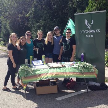 EcoHawks promote sustainability at Laurier and beyond