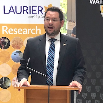 Laurier researchers receive provincial funding, including a prestigious Early Researcher Award