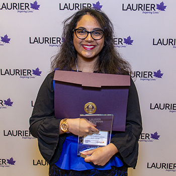 Young authors take home $10,000 in winnings at Laurier Stedman Prize celebration