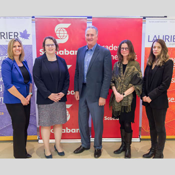 Image - Generous donation to Laurier creates the User Experience Design Initiative, supported by Scotiabank