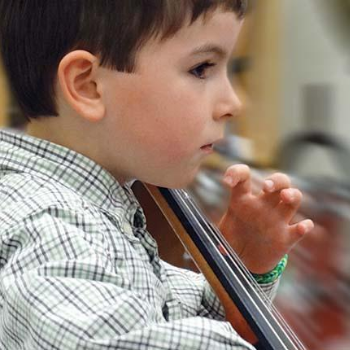 Image - Laurier String Academy students 'take a chance' during virtual year-end recital
