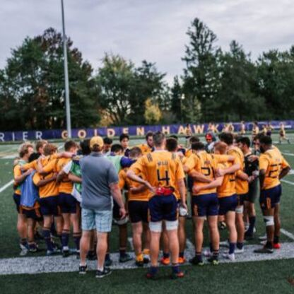 A big Movember for Laurier's men's rugby team