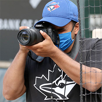 Communicating for the Blue Jays through COVID-19's curveballs.